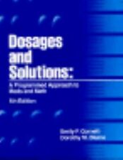 Dosages and Solutions: A Programmed Approach to Meds and Math, Blume, Dorothy M.