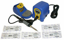 Hakko FX888D-23BY Soldering Station with Chisel Bundle T18-D08/D12/D24/D32/S3