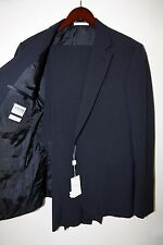 Armani Collezioni Wool and Silk S Line Two Button Suit Size 42 R  $2,895