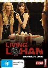 D6 BRAND NEW SEALED Living Lohan : Season 1 (DVD, 2009)