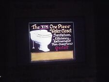 slide Theatrical Poster Gaslight Movie Film 1920's ad Toilet Tin One Piece water