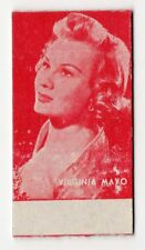 Spanish Weighing Weight Machine Card Calzados Garcera US Actress Virginia Mayo