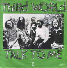 "7"" Third World Talk To Me 70`s Reggae Chart Hit 70 Ariola Island"