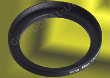 46mm to 55mm 46-55mm 46mm-55mm 46-55 Stepping Step Up Filter Ring Adapter