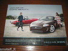 *AH95=JAGUAR XK=PUBBLICITA'=ADVERTISING=WERBUNG=COUPURE=