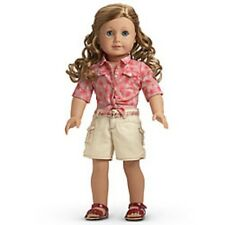 American Girl LE NICKI TIE TOP & SHORTS Western Outfit Dolls Retired Saige