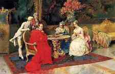 Rosati Giulio The Chess Players 5 A4 Print