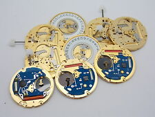 Used watch parts Tag Heuer ETA Cal 955 112 lot of 9 whole & parted out movements