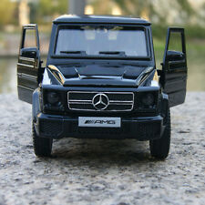 Mercedes-Benz G63 AMG Alloy Diecast Car Model Black 1:35 Toy Collections & gifts