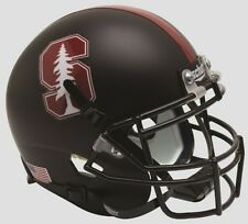 STANFORD CARDINAL BLACK 2015 TREE SCHUTT FULL SIZE FOOTBALL HELMET