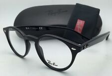 New RAY-BAN Rx-able Eyeglasses / Frame RB 2180-V 2000 47-21 Black w/ Clear Demo