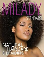 MILADY STANDARD NATURAL HAIR CARE AND BRAIDING - NEW PAPERBACK BOOK
