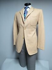 Ermenegildo Zegna soft Cream three button canvassed sport coat 42 R