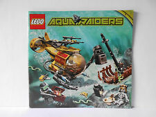 Lego Aqua Raiders Bauanleitung/Instruction 7776 Schiffswrack