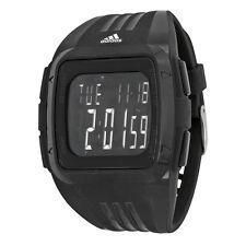Adidas Duramo XL Digital Dial Black Rubber Mens Watch ADP6090