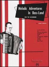 Melódico Aventuras En bass-land Para Acordeón Libro De Partituras
