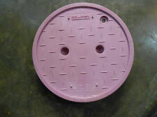 ADS 10 inch Round Valve Box Cover for Non-Potable Water (Qty-16) (OOO-2)