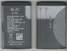 LOT 5 NEW BATTERY FOR NOKIA BL5C 1616 X2-01 5130 2330