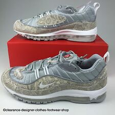 NIKE AIR MAX 98 SUPREME x baskets homme NIKE LAB LTD edition rare peau de serpent chaussure