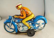 PN Western Germany Moto en tôle lithographiée ancien friction 16,5 cm tintoy