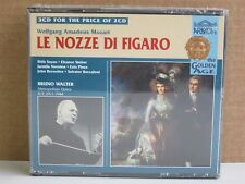 Mozart: Le Nozze Di/Marriage of Figaro 3-CD NEW* 1944 Bruno Walter/Bidu Sayao