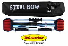 Bullworker Steel-Bow with Chart & Case (Free Shipping)