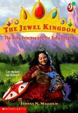 The Ruby Princess and the Baby Dragon (Jewel Kingdom #9-ExLibrary