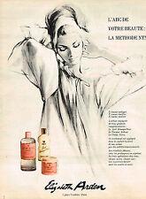 PUBLICITE ADVERTISING 014   1967   ELISABETH ARDEN     cosmétiques