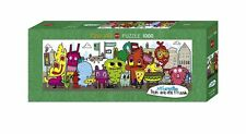 1000 PIECEJIGSAW PUZZLE HY29601 - Heye Puzzles  Panorama In the City, Burgerman