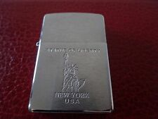 VINTAGE ZIPPO STATUE OF LIBERTY - LIGHTER -  ENCENDEDOR MECHERO