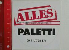 Aufkleber/Sticker: Alles Paletti - Private Kleinanzeigen (12041623)