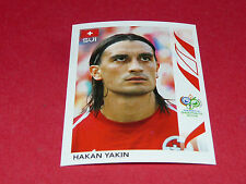 487 HAKAN YAKIN HELVETIA SUISSE PANINI FOOTBALL GERMANY 2006 WM FIFA WORLD