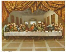 Catholic Print Picture The LAST SUPPER Jesus with the Apostles 8x10""