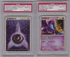 PSA 10 JPN Holo Cresselia 020 & Psychic Energy 015 L-P Super Rank Promos Cards