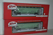 2 Atlas Union Pacific Hart Ballast Cars Ho Scale