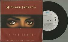 Vinyl Single 45, Michael Jackson In the Closet + Colour Poster ( Epic Holland )