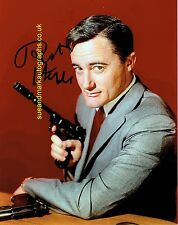 Robert Vaughn The Man from UNCLE Napoleon Solo B  Autograph UACC RD96