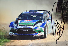 Petter Solberg SIGNED  Ford Fiesta RS WRC  Rally de Portugal 2012
