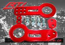 JDM Honda Front +Rear Anodized Aluminum Tow Hooks Red DC DA FG CD CG S2000 Civic