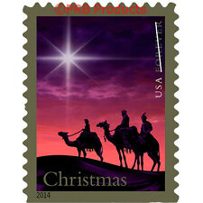 Magi Christmas Sheet of 20 Forever USPS Postage Stamps Star Camel United States