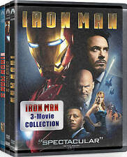 Iron Man: 3 Movie Collection (DVD, 2015, 3-Disc Set)