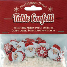 SANTA CANDY STICK SNOWFLAKE CONFETTI TABLE DECORATION, ART & CRAFT, CHRISTMAS