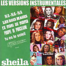CD SHEILA Les versions instrumentales - 21 Playbacks originaux - Vol 2  CARD SLE