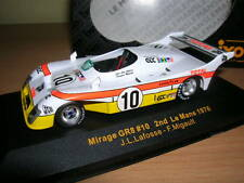 Ixo Mirage GR8 2nd Le Mans 1976 Lafosse Migault, 1:43, #10