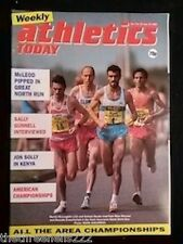 ATHLETICS TODAY - SALLY GUNNELL INTERVIEW - JUNE 22 1989