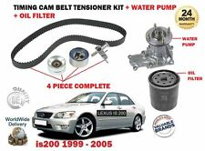 FOR LEXUS IS200 2.0 1G-FE 1999-  WATER PUMP + TIMING CAM BELT KIT + OIL FILTER