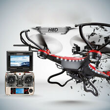 JJRC H8D 6-Axis Gyro 5.8G FPV RC Quadcopter Drone HD Camera+Monitor+2 Battery SE