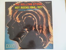 ROLLING STONES HOT ROCKS 1964-1971 1st ISRAELI LP DIFF BACK ERROR MISPRINT