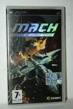 MACH MODIFIED AIR COMBAT HEROES USATO OTTIMO SONY PSP ED ITALIANA FR1 41642