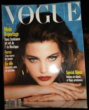 Vtg Vogue Paris 1992 Elle Macpherson Meghan Douglas Heather Stewart Whyte